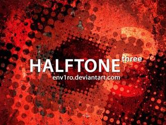 Halftone 3 Photoshop brush