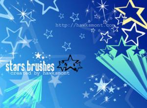 Stars by hawksmont Photoshop brush