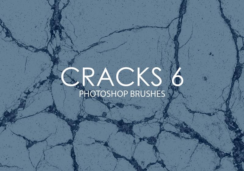 Free Cracks Photoshop Brushes 6 Photoshop brush