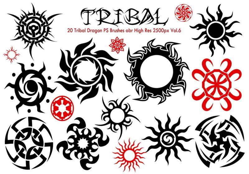 Tribal PS Brushes Vol.6 Photoshop brush