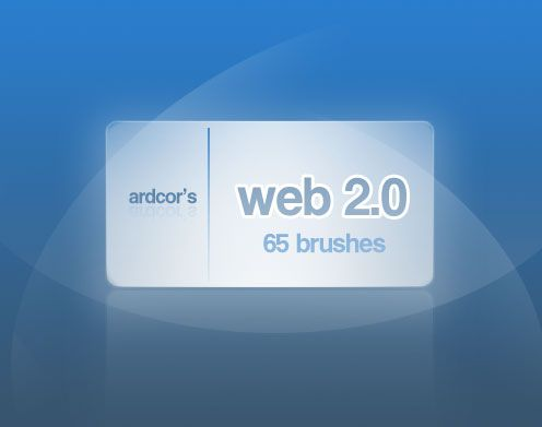 Web 2.0 Style Brushes Photoshop brush