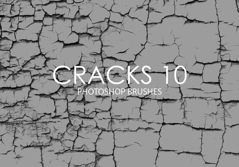 Free Cracks Photoshop Brushes 10 Photoshop brush