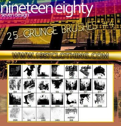 Grunge Set 4 Photoshop brush
