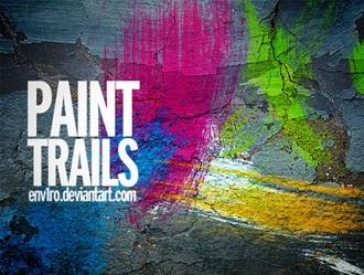 Paint Trails Photoshop brush