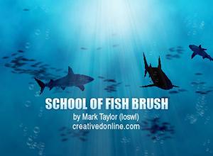 Etched Fish Brush Pack - Free Photoshop Brushes at Brusheezy!