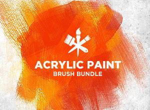 Acrylic Paint Photoshop brush