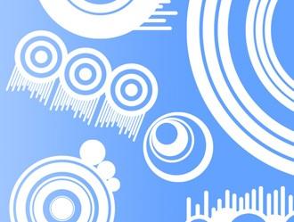 11 Circle Brushes Photoshop brush