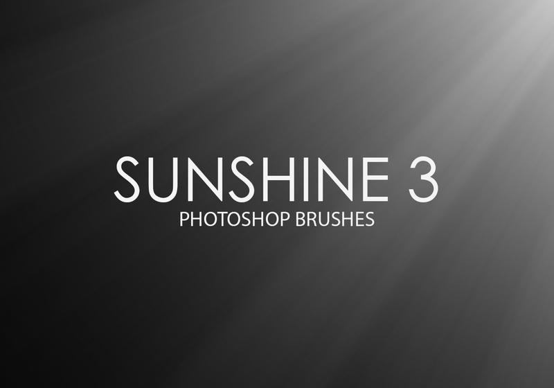 Free Sunshine Photoshop Brushes 3 Photoshop brush