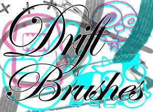 Drift Brushes Photoshop brush