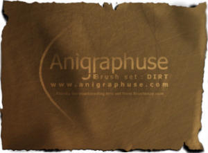 Anigraphuse Dirt set Photoshop brush