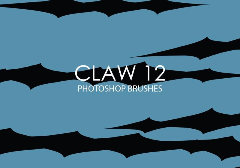 Free Claw Photoshop Brushes 12 Photoshop brush