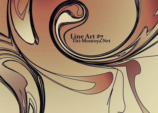 Line Art 7 Photoshop brush