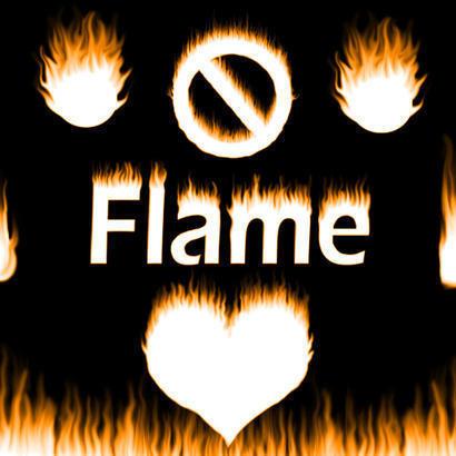 Flames Brushes! Photoshop brush