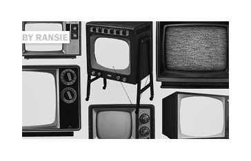 Old TV Photoshop brush