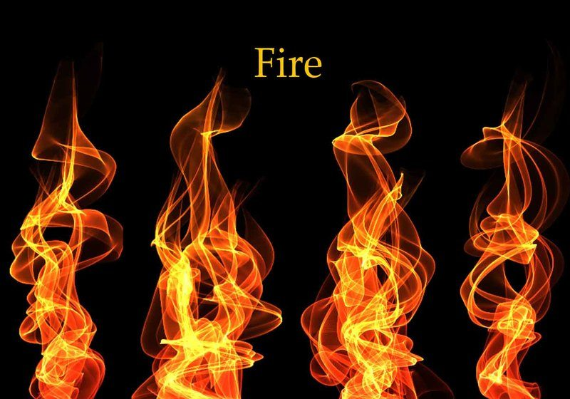 20 Fire PS Brushes abr.Vol.6 Photoshop brush