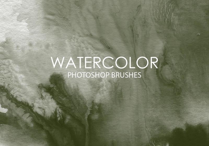 Free Watercolor Wash Photoshop Brushes 9 Photoshop brush