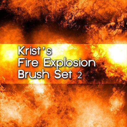 Krist's Fire Brush Set 2 Photoshop brush