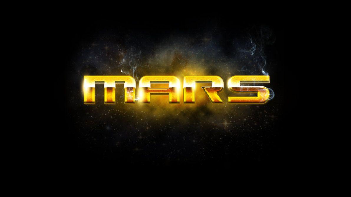 Mars Style Photoshop brush