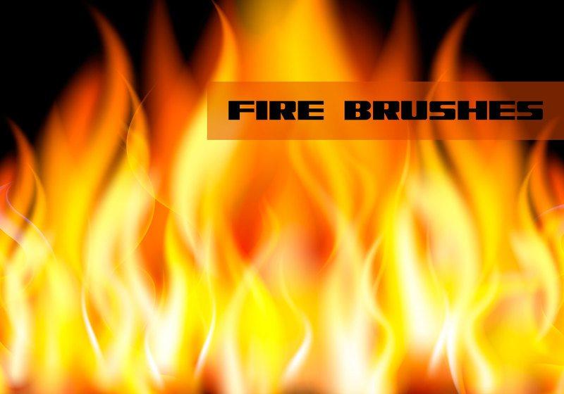 Fire/Flame Brushes Photoshop brush