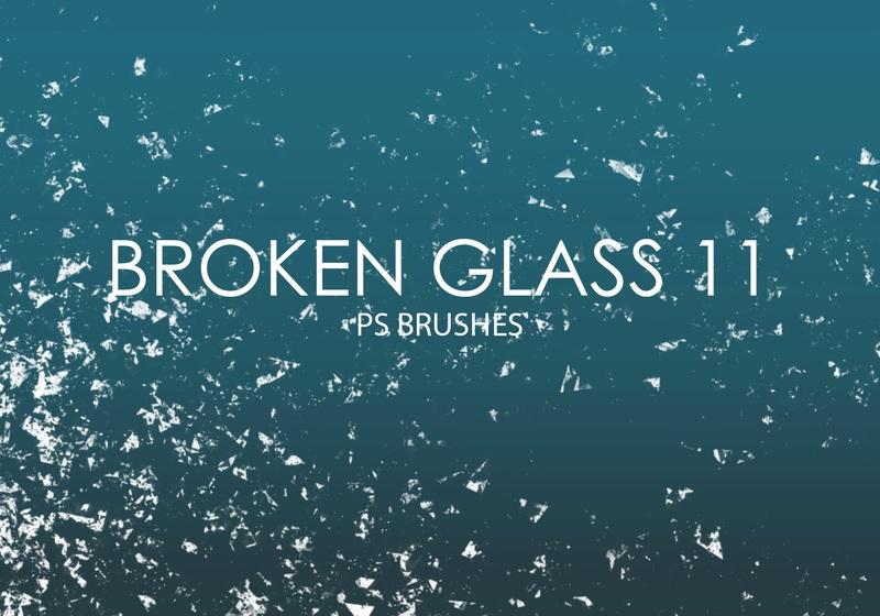 Free Broken Glass Photoshop Brushes 11 Photoshop brush