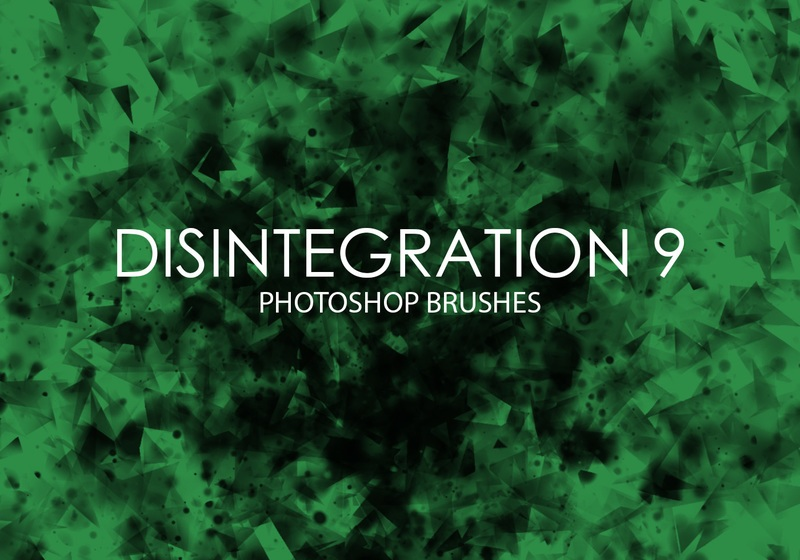 Free Disintegration Photoshop Brushes 9 Photoshop brush