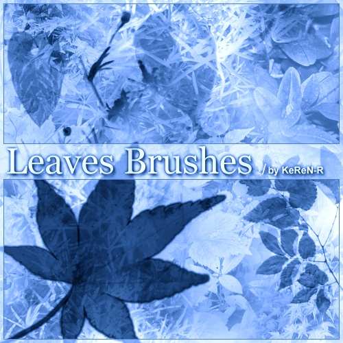 Leaves Brushes Photoshop brush
