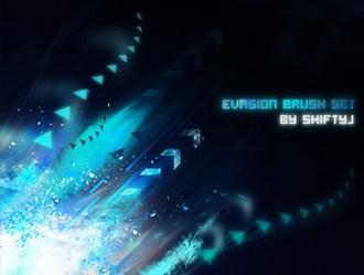Evasion Brushes Photoshop brush