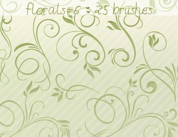 Floral Brushes 6 Photoshop brush