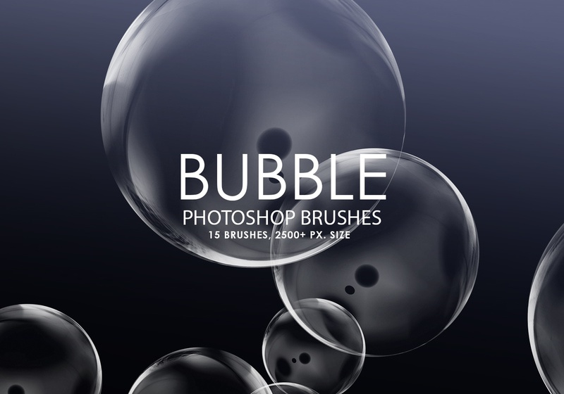 Free Bubble Photoshop Brushes Photoshop brush