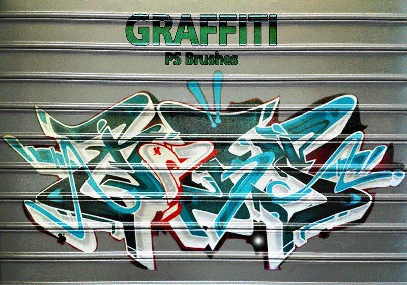 20 Graffiti PS Brushes abr. Vol.11 Photoshop brush
