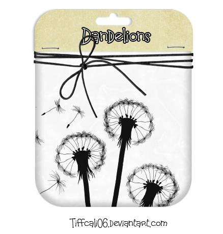 Dandelions Photoshop brush