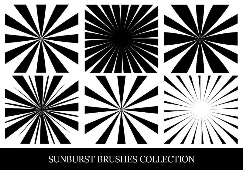 Sunbusrt Brush Collection Photoshop brush