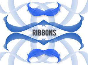 Ribbon Brushes Photoshop brush