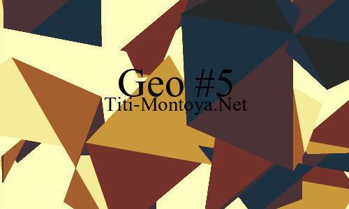 Geo 5 Photoshop brush