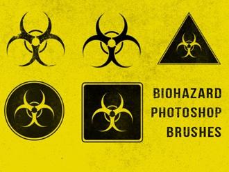 Biohazard Brushes Photoshop brush