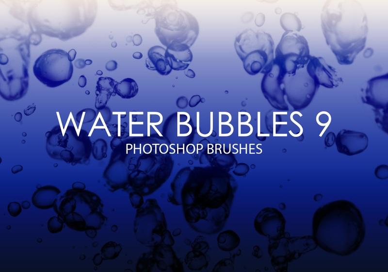 Free Water Bubbles Photoshop Brushes 9 Photoshop brush