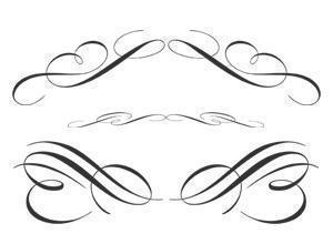 Free Calligraphic Ornament Brushes Photoshop brush