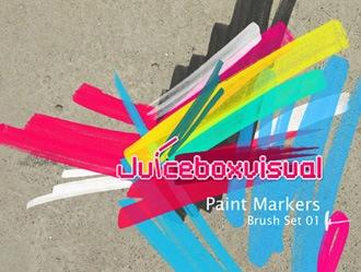 Paint Markers Photoshop brush