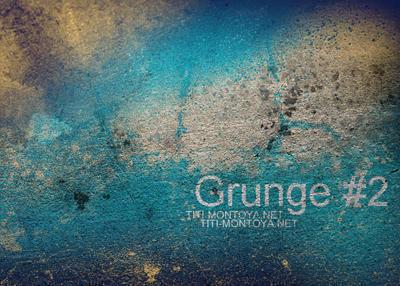 Grunge 2 Photoshop brush