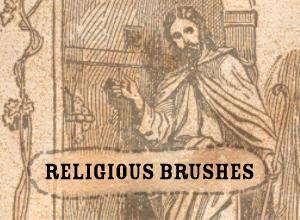 Religious Photoshop brush