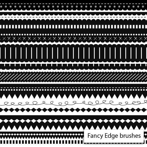 Fancy Edge Brushes Photoshop brush