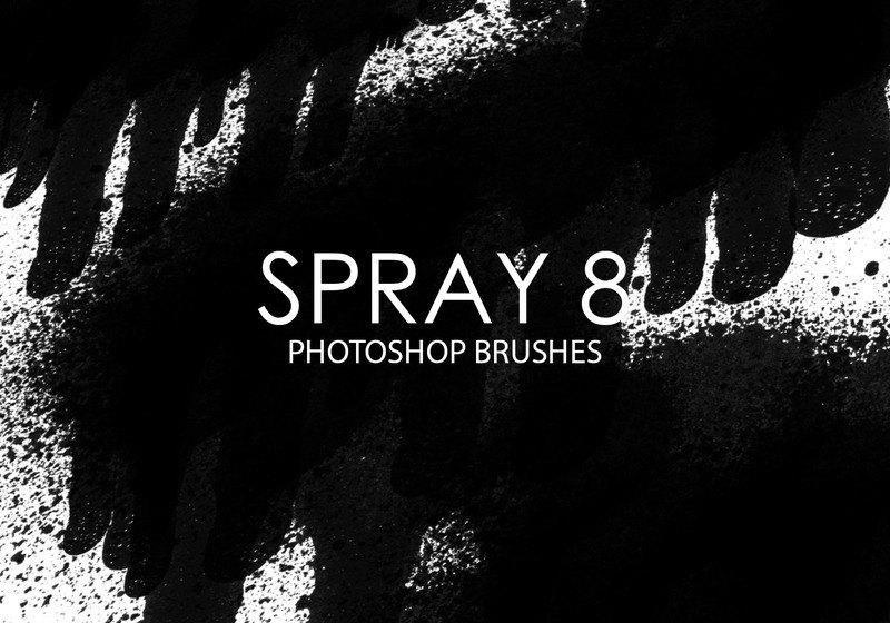 Free Spray Photoshop Brushes 8 Photoshop brush