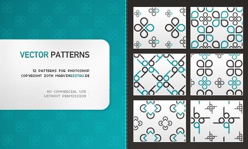 Vector Patterns Photoshop brush