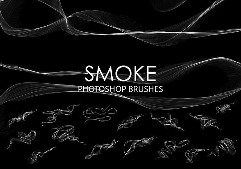 Free Abstract Smoke Photoshop Brushes 2 Photoshop brush