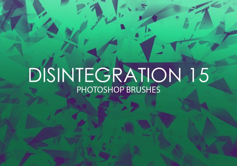 Free Disintegration Photoshop Brushes 15 Photoshop brush