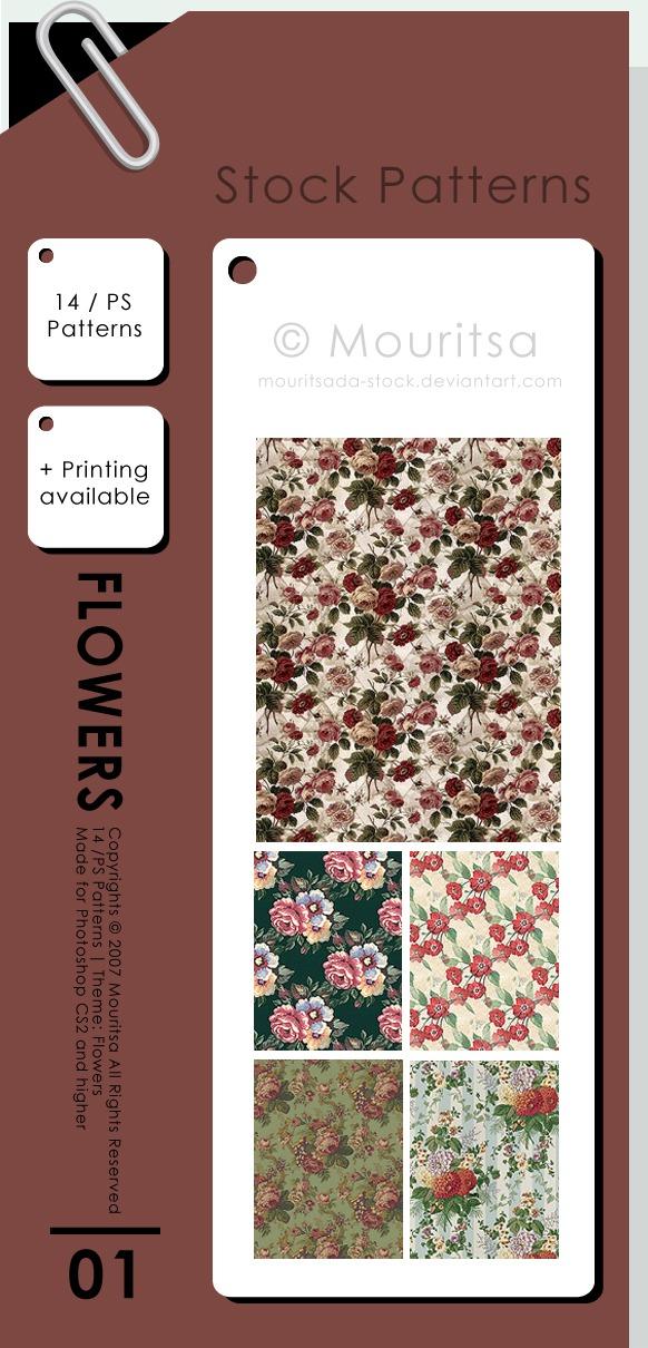 Flowers Photoshop brush