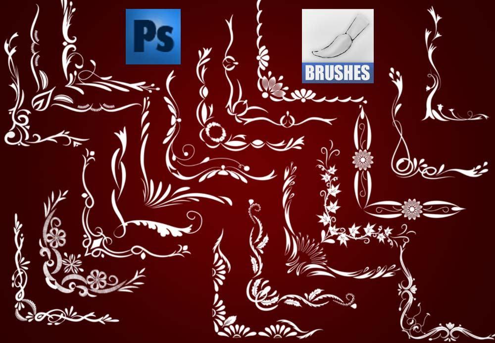 Corner Brushes Photoshop brush