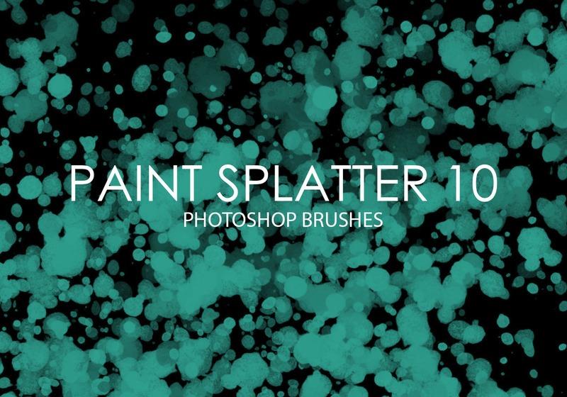 Free Paint Splatter Photoshop Brushes 10 Photoshop brush