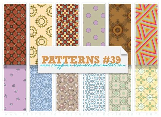 Patterns .39 Photoshop brush