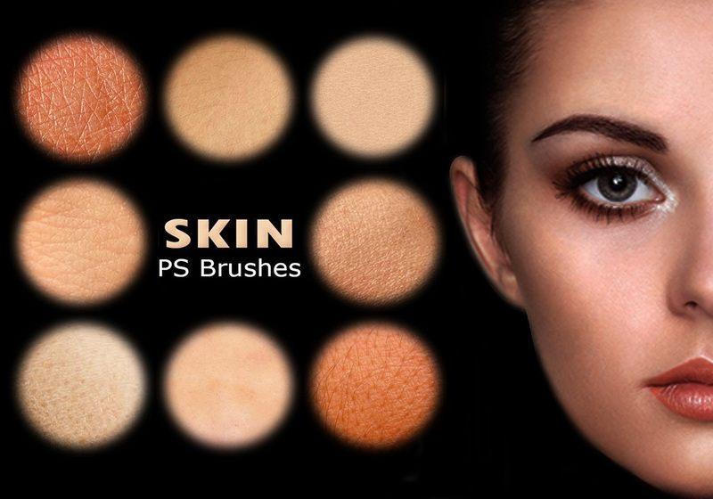 20 Human Skin PS Brushes abr. Vol. 7 Photoshop brush